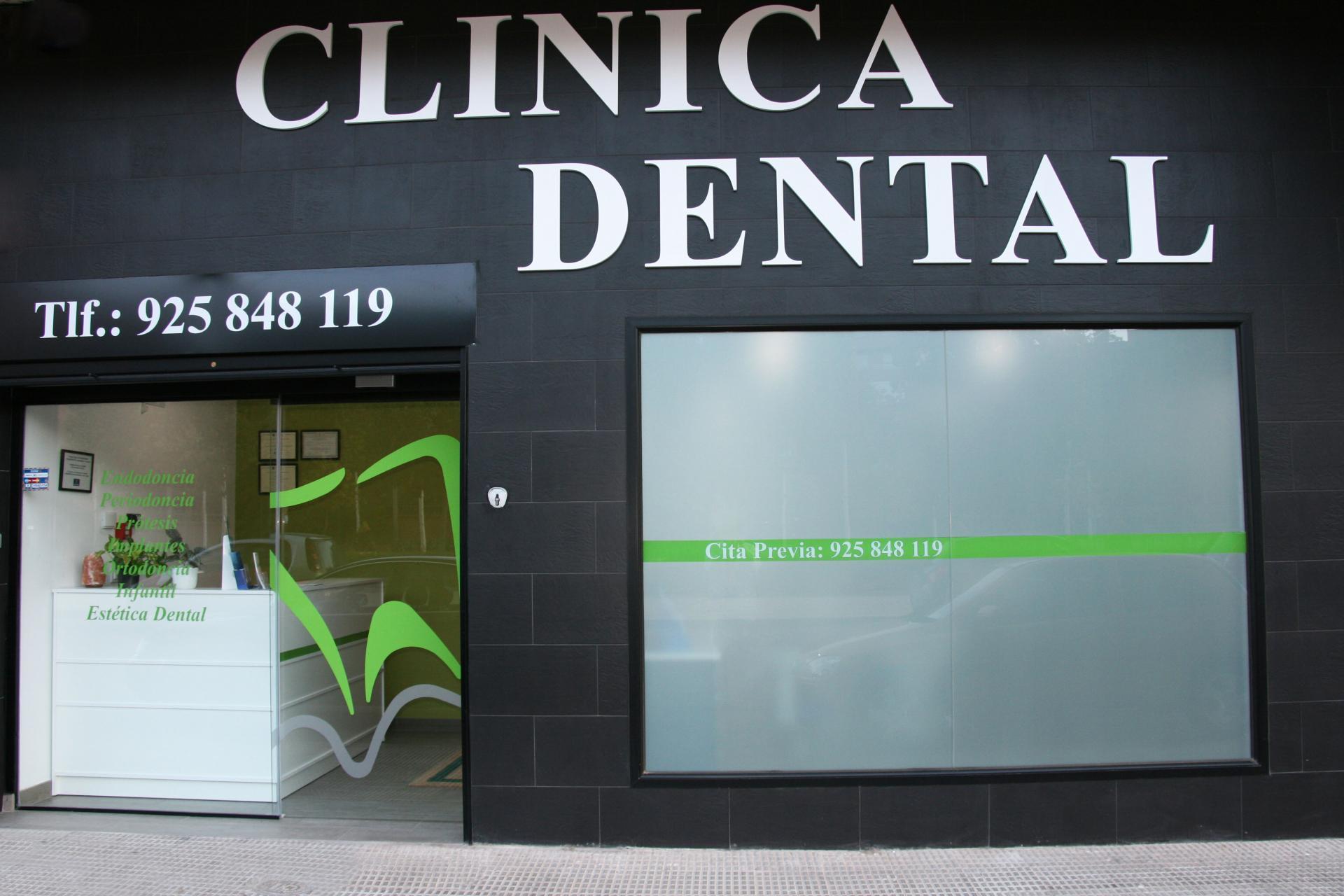 Instalaciones y material cl nica dental ismael coleto - Fachadas clinicas dentales ...